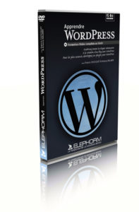 "DVD ""Apprendre WordPress"" - Copyright Elephorm"