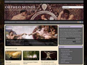 L'Orpheo Mundi, édité par un contributeur du forum