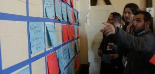 Andrew organise la journée à partir des propositions des participants